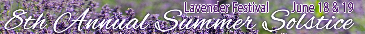 2016 8th Annual Summer Solstice Lavender Festival