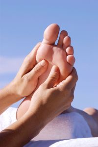 Reflexology with the Feet